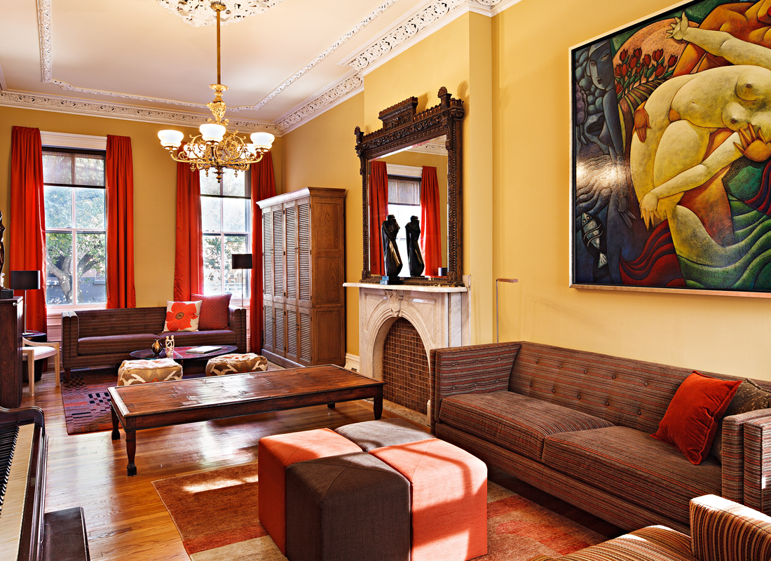Living Room | Green Street, Philadelphia
