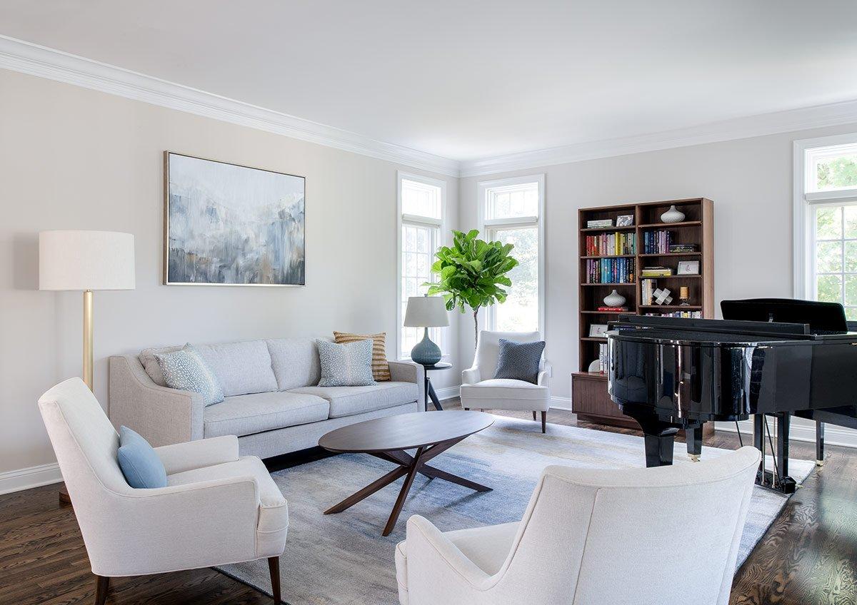 Living Room | Laurier Lane, Bryn Mawr