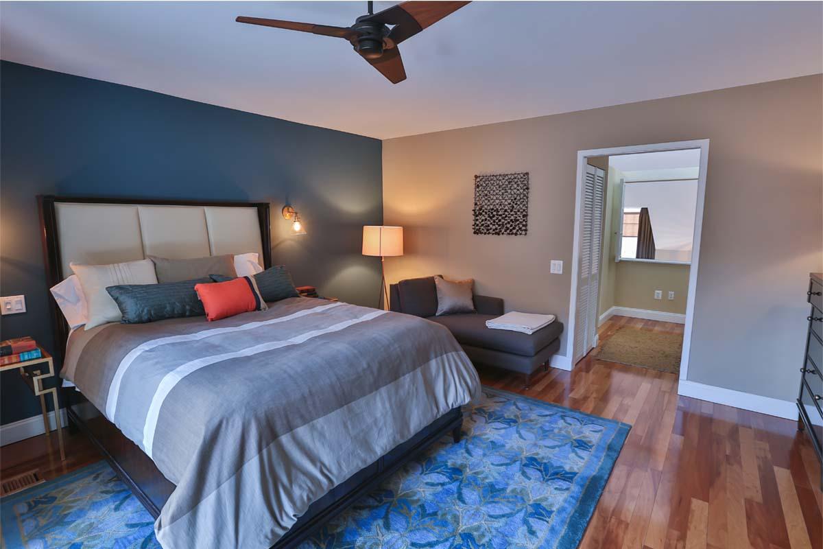 Bedroom | St. James Court, Philadelphia