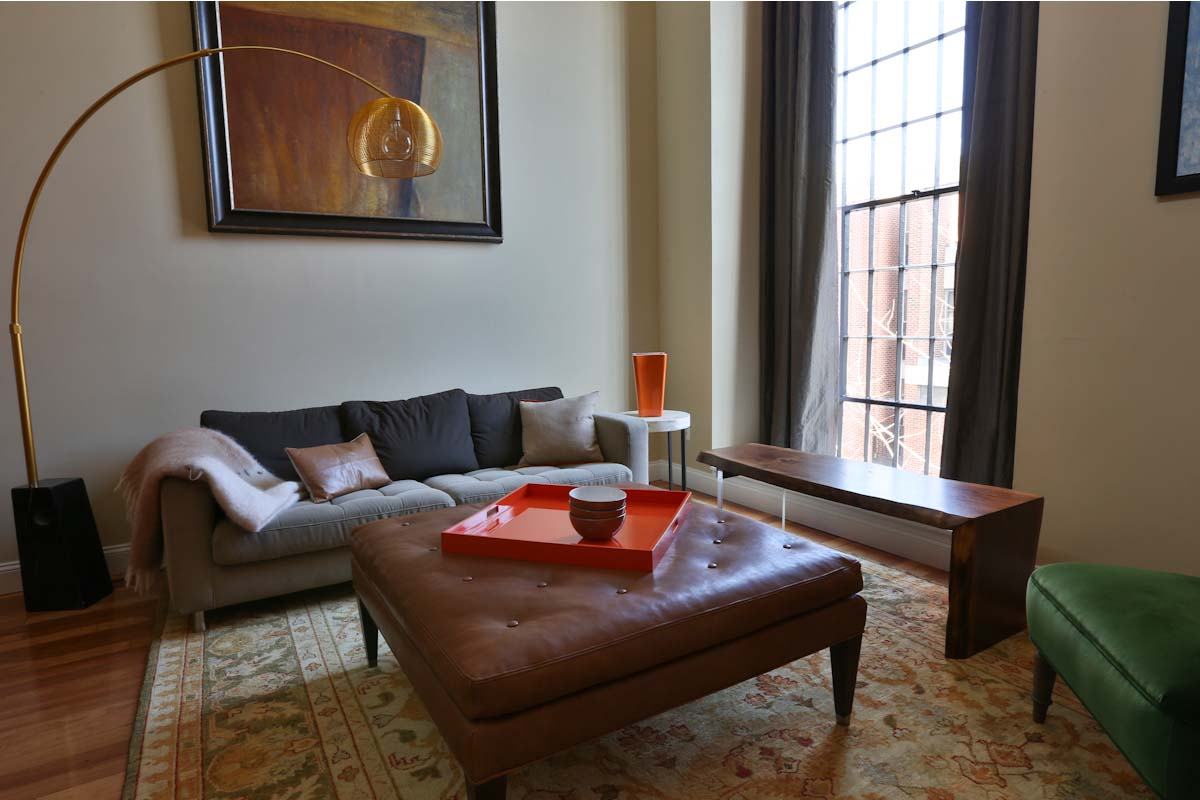 Living Room | St. James Court, Philadelphia
