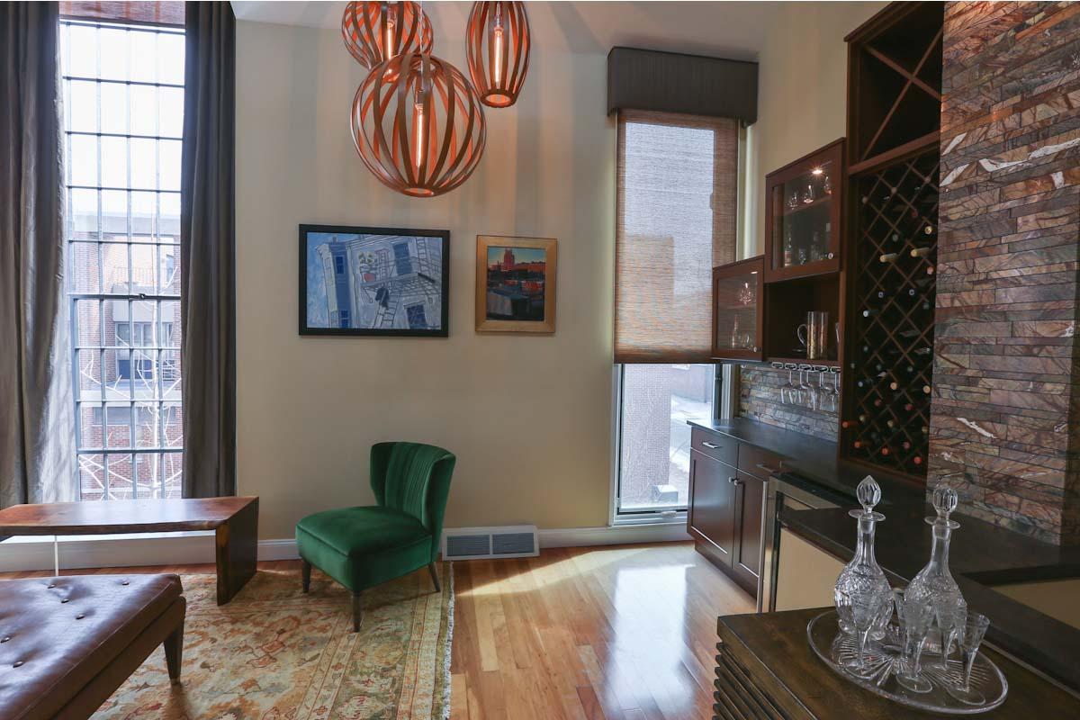 Living Room | St. James Court, Philadelphia