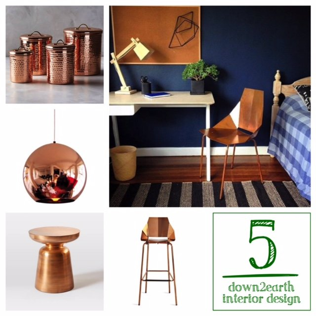Top 5 Copper Pieces For Your Home: Copper For Fall | Down2earth Interior  Design