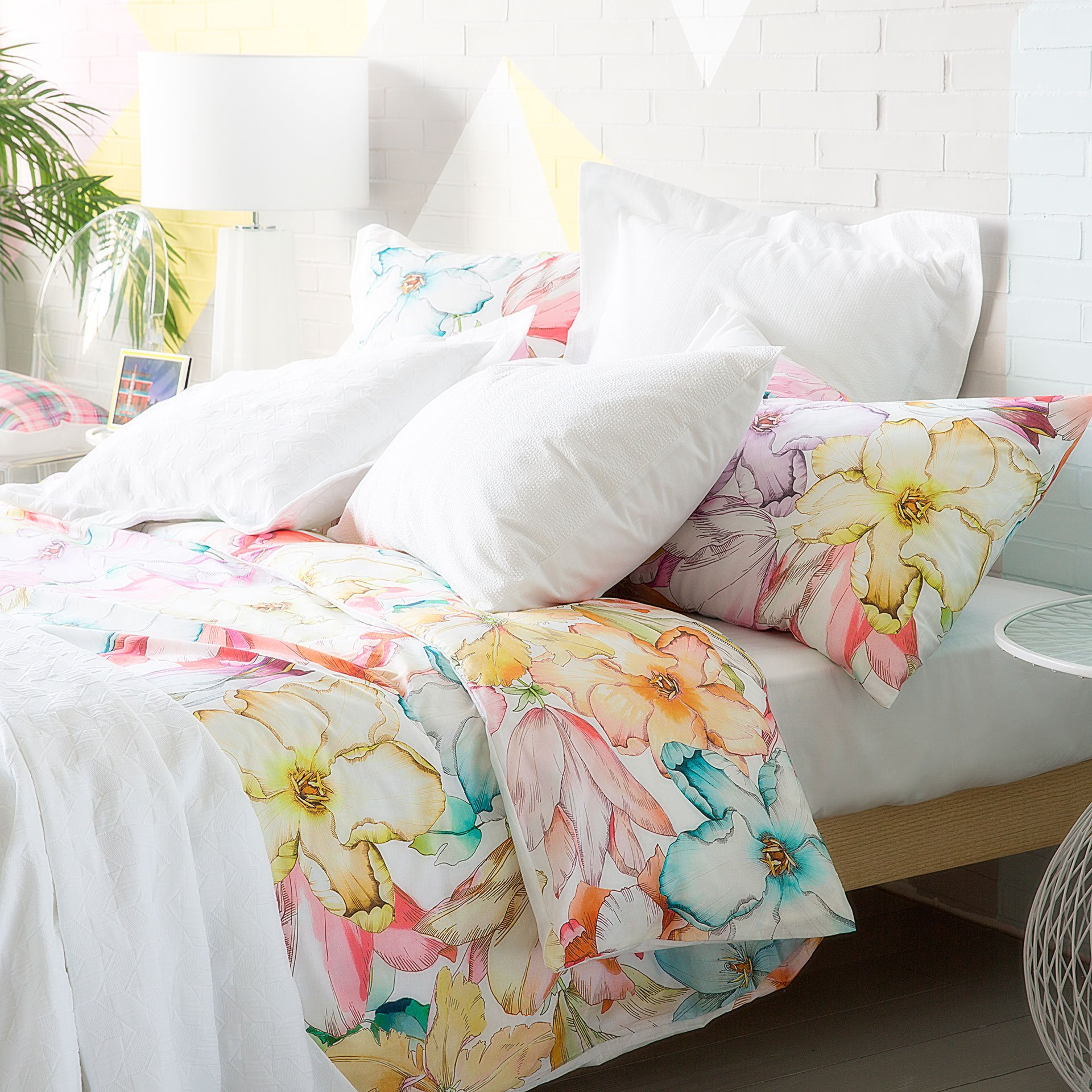oversized king comforter in bedroom beach style with floatin