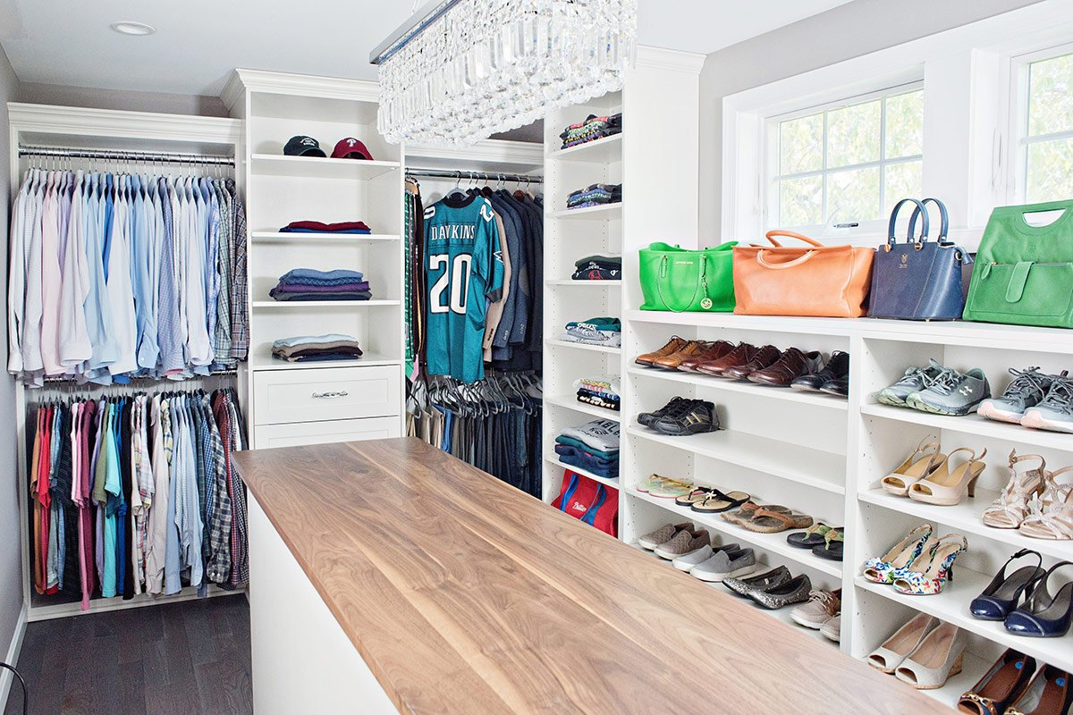 Walk-in Closet | Yorkshire Way, Bryn Mawr