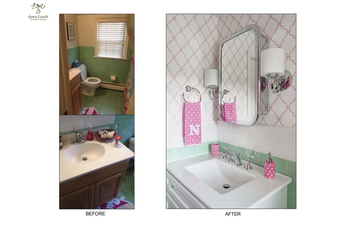 Before & After Bathroom | Wayne House