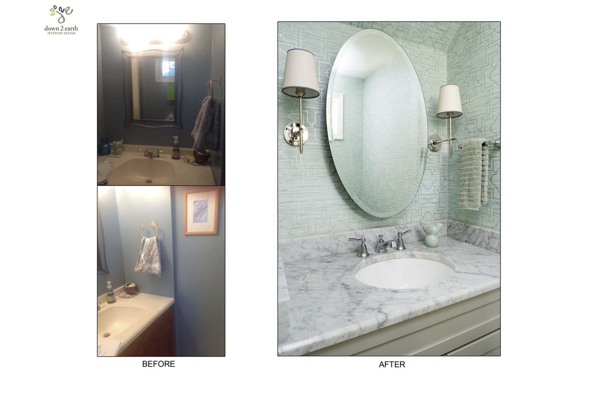 Before & After Bathroom | Wayne House
