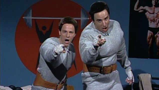 Hans & Franz Saturday Night Live Skit made famous by Dana Carvey, Kevin Nealon