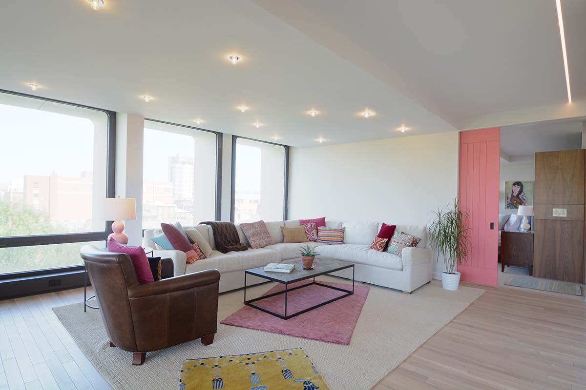 Living Room | Society Hill Tower, Philadelphia
