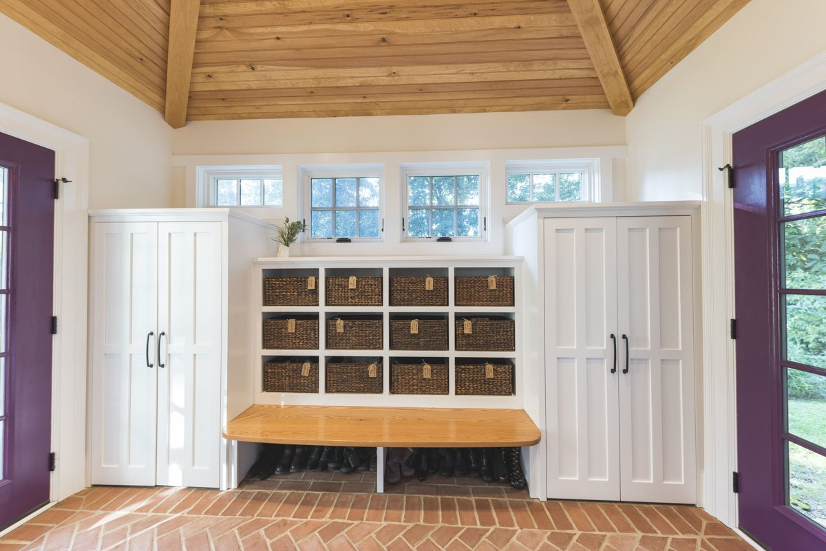 Mudroom | Spring Avenue, Elkins Park