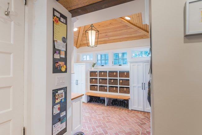 Mud Room Interior Design Project | Down2Earth Interior Design