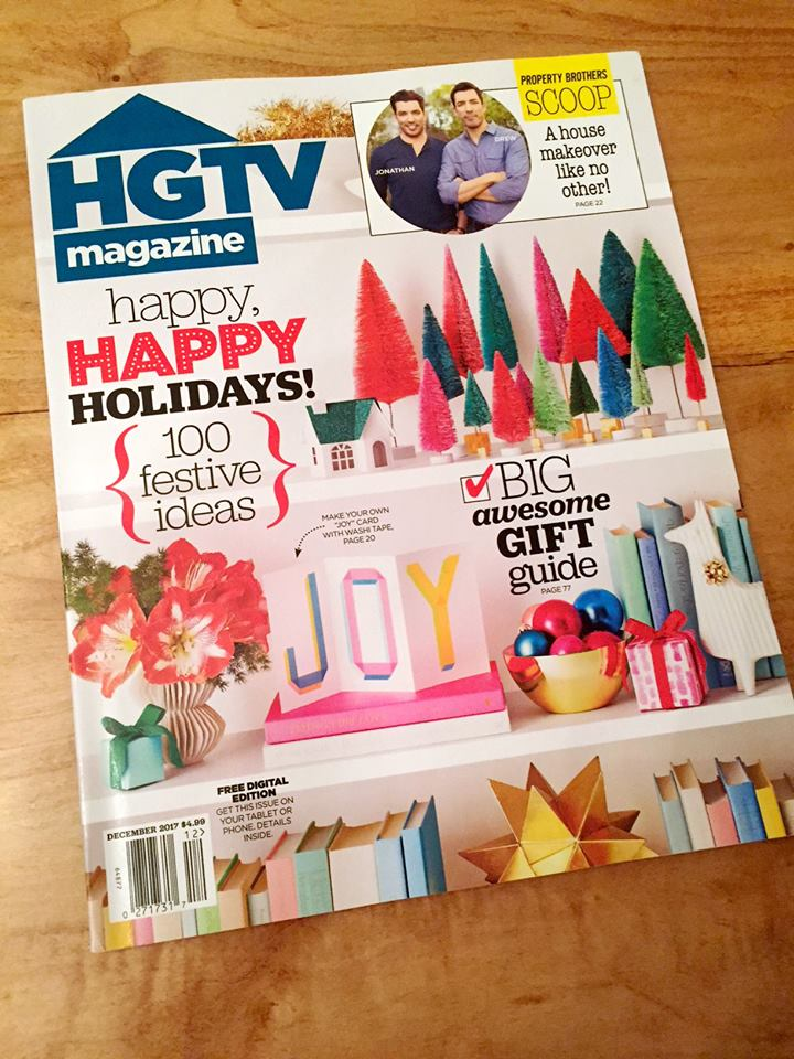 Recent Press Down2Earth Interior Design | HGTV Magazine