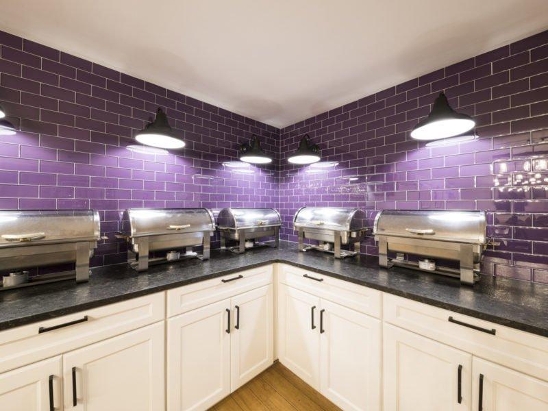 Sorority Dining Interior Design Serving Area