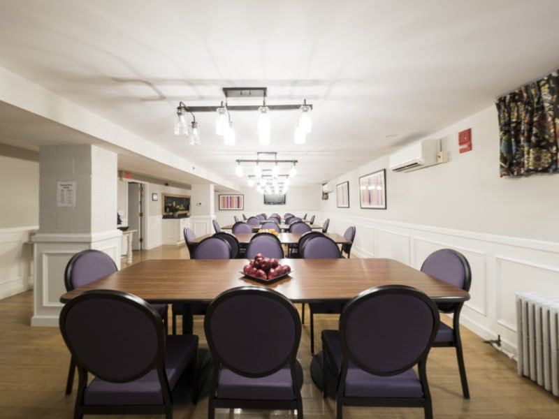 Sorority Study Interior Design Cafeteria