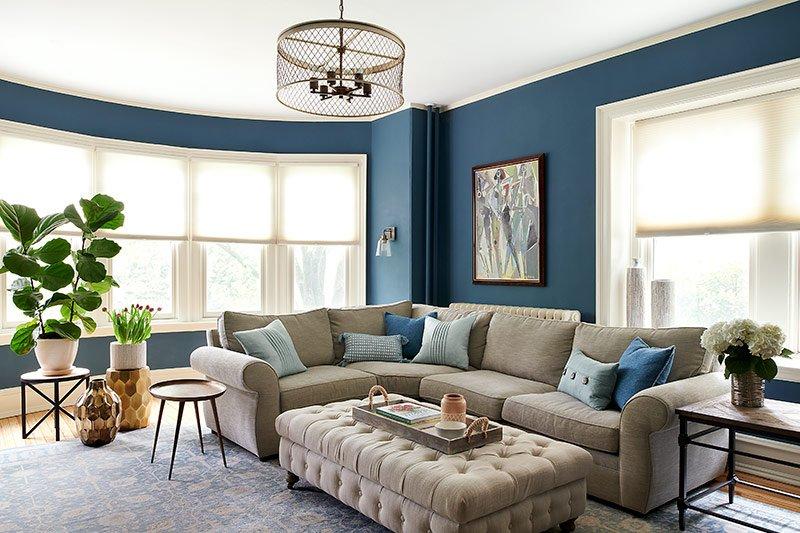 Interior Design Portfolio Family Room