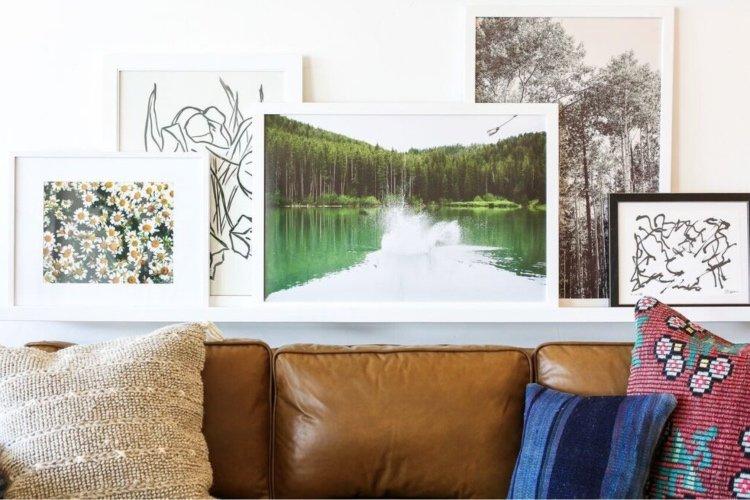 Interior design with color