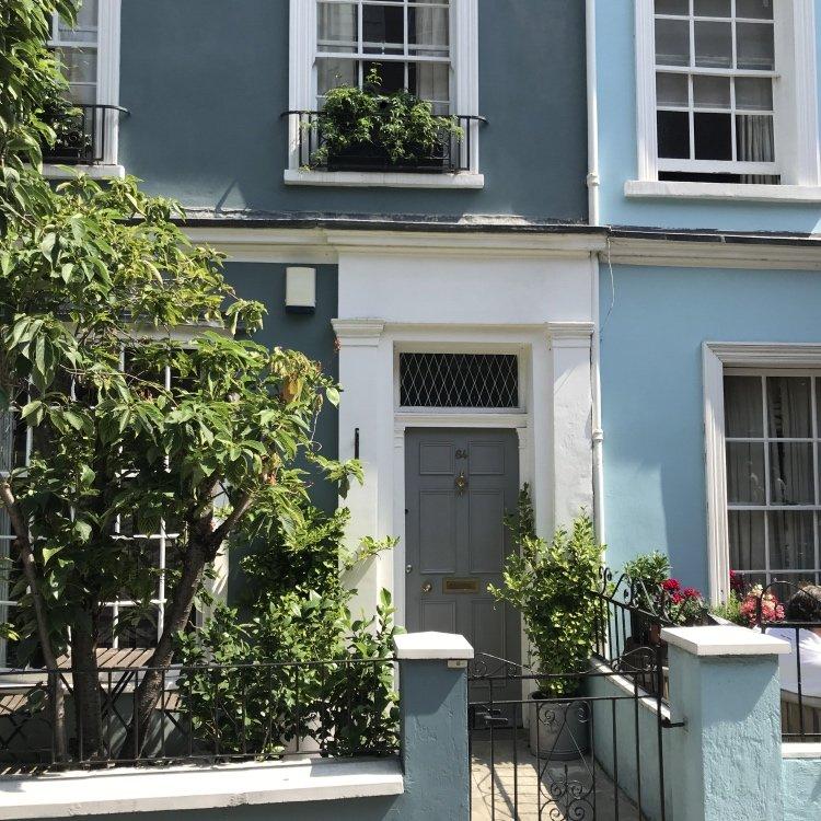 London Interior Design inspiration, Notting hill Door