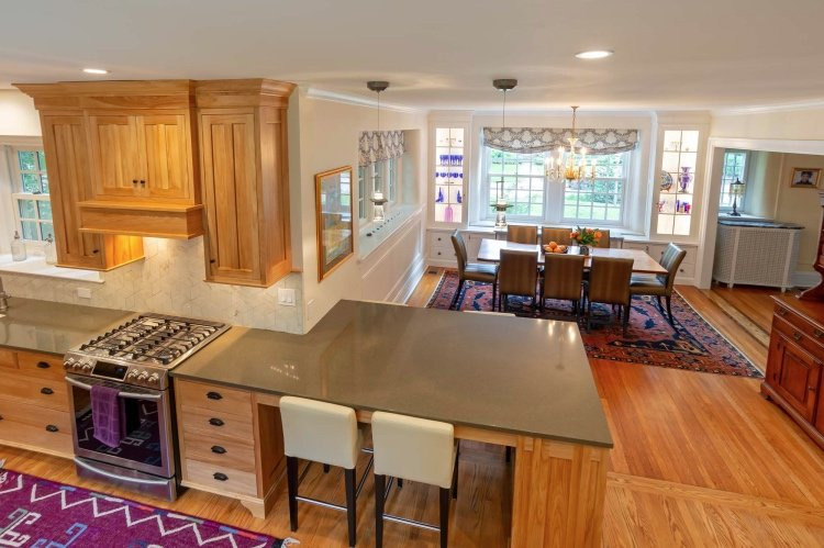 kitchen dining room overview