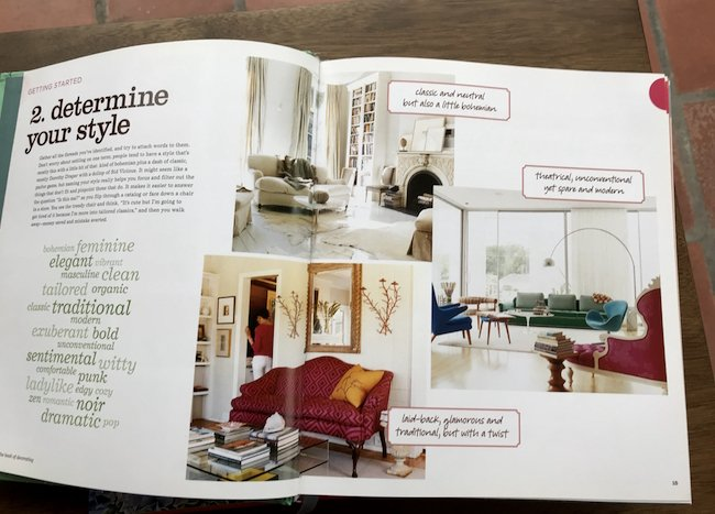 Domino book page - determine your style