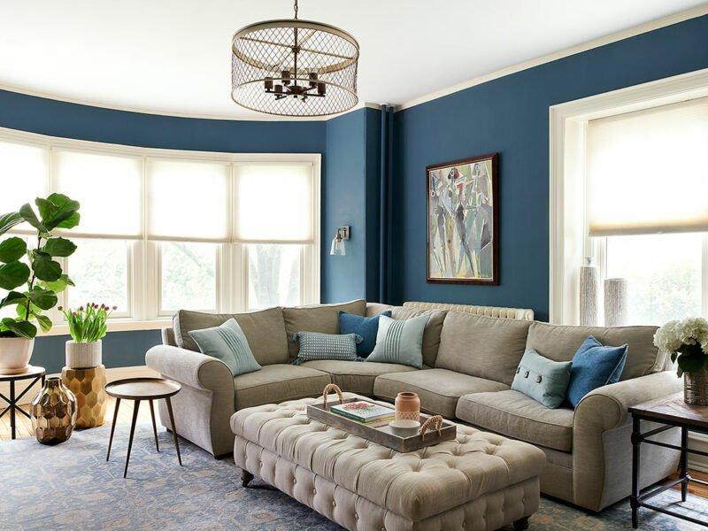 Family Room | Upsal Street, Philadelphia