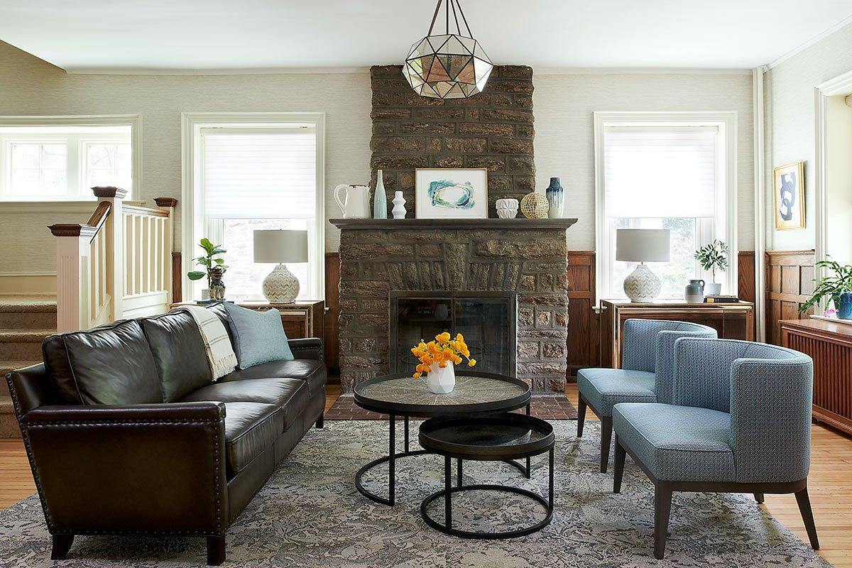 Upsal Street Philadelphia Living Room