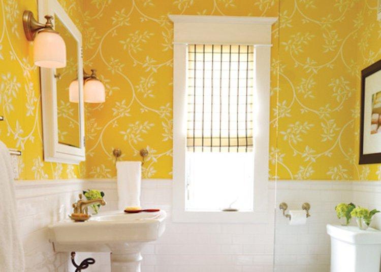 Follow The Sun Yellow Bathroom Design Inspiration Down2earth Interior Design