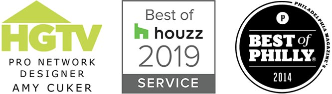 Best of Houzz, Best of Philly, HGTV Pro Designer Amy Cuker