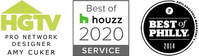 Best of Houzz, Best of Philly, HGTV Pro Designer Amy Cuker
