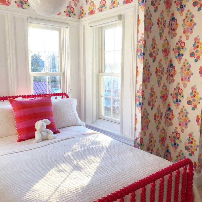 Designer's Own Home, Jillian's Daughter's Bedroom. Interior Design Kids Inspiration