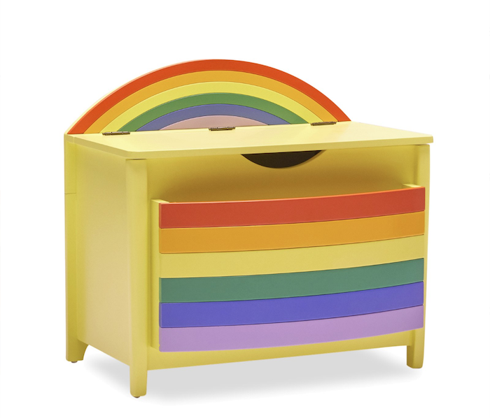 Rainbow Storage Bins