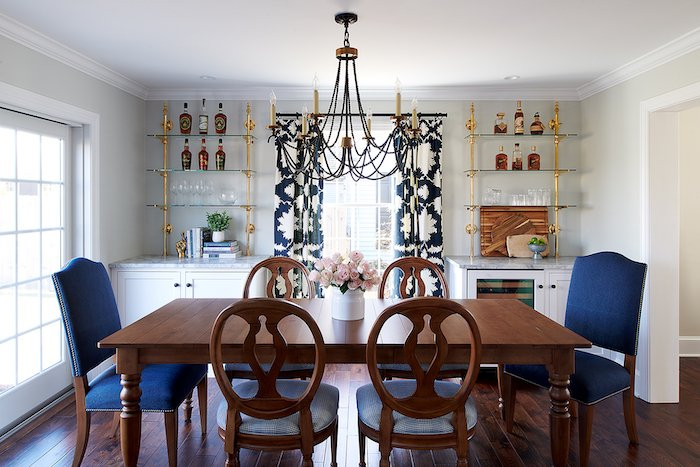Project Spotlight Dining Room Renovation