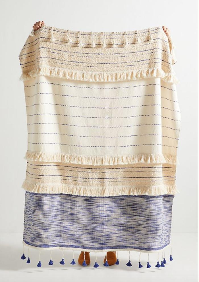 Embellished Nayo Throw Blanket