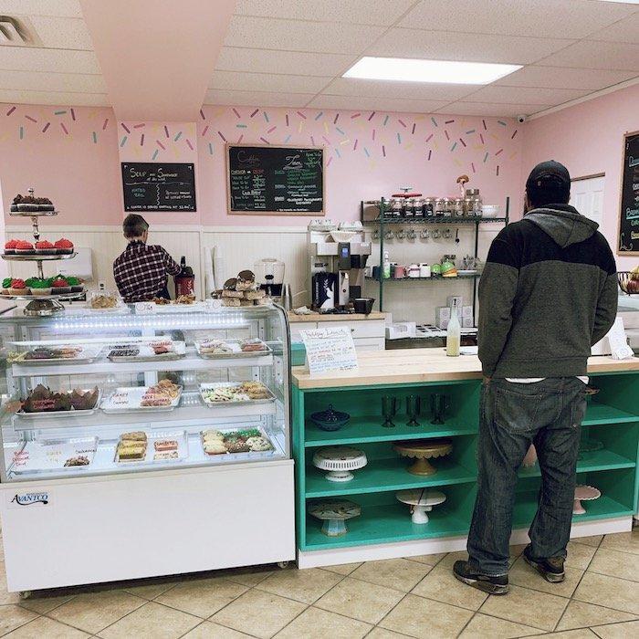 Inside Terrace Street Bakery Manayunk
