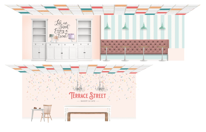 Terrace Street Bakery Interior Design Concepts by Down2earth Interior Design