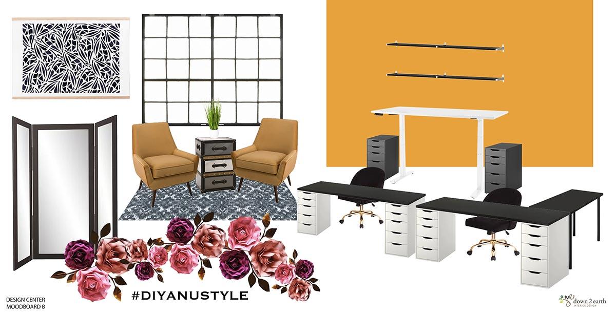 D'lyanu - Design Center Moodboard