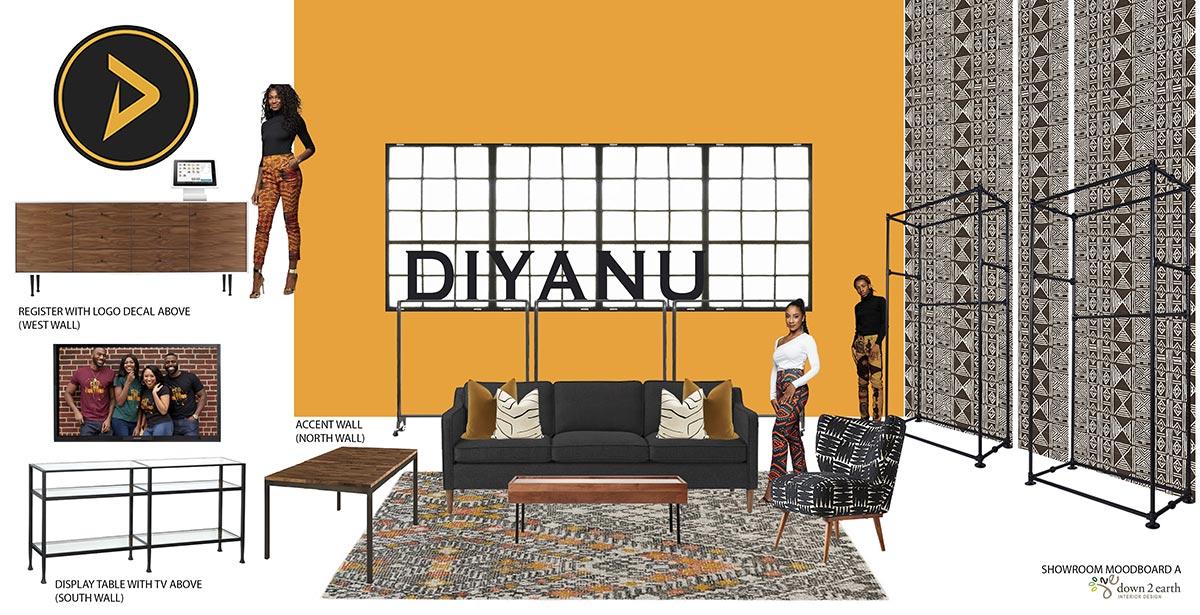 D'lyanu - Showroom Moodboard