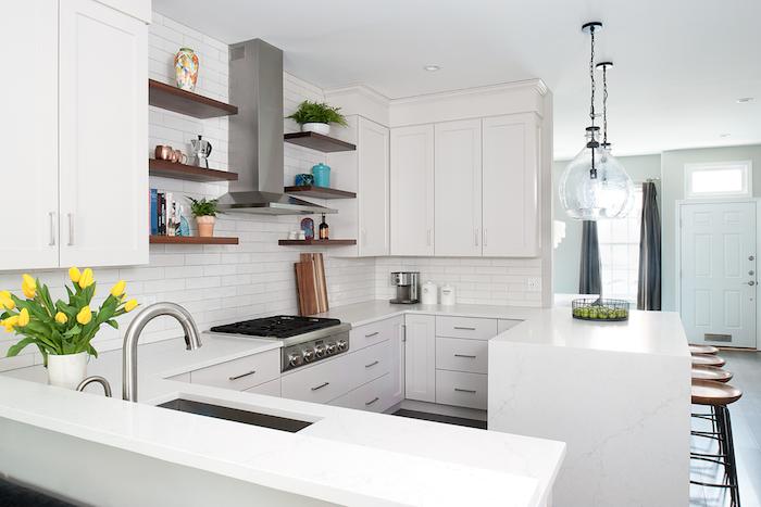 Down2Earth Interior Design Rowhouse Kitchen. Photo Credit: Rebecca McAlpin