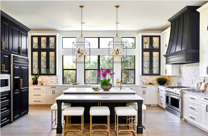 Transitional Kitchen by Haven Design and Construction from Houzz. Photo Credit: Matthew Niemann Photography