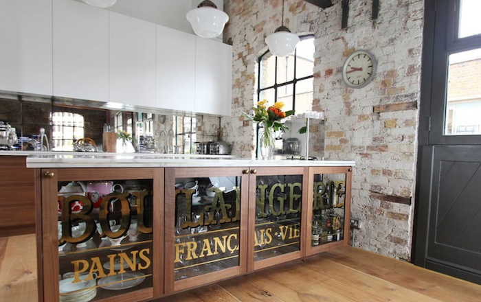 ShoreditchWarehouse Living Industrial Kitchen, London from Houzz by Increation.