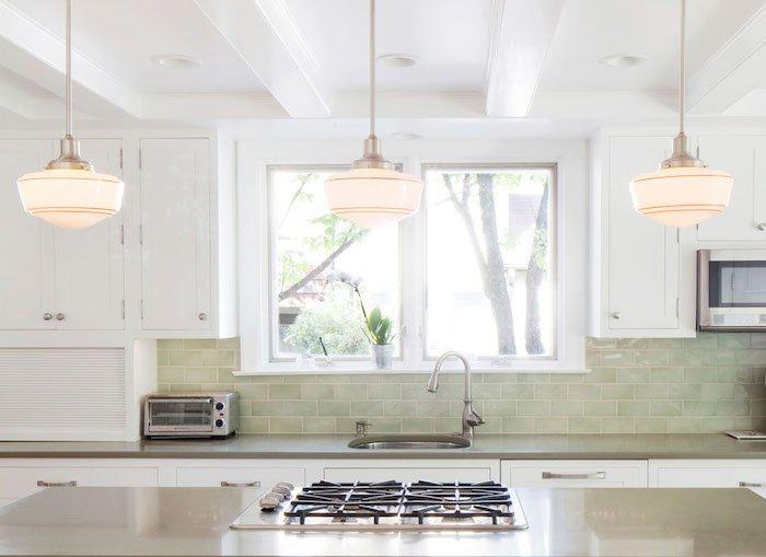 Down2Earth Interior Design Light, Bright, Airy Kitchen