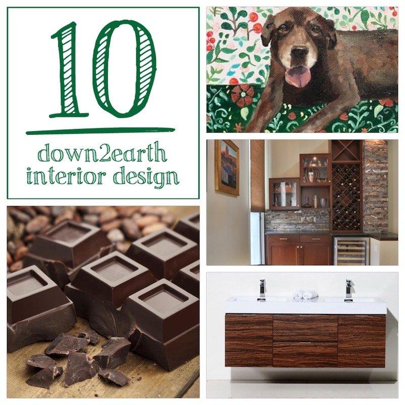 Celebrating Chocolate and Interior Design, Top 10