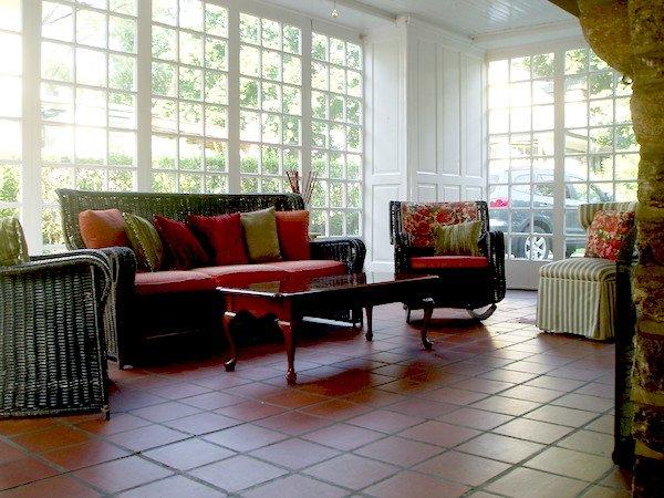 Down2Earth Interior Design - Amy's Own Home Sunroom Design