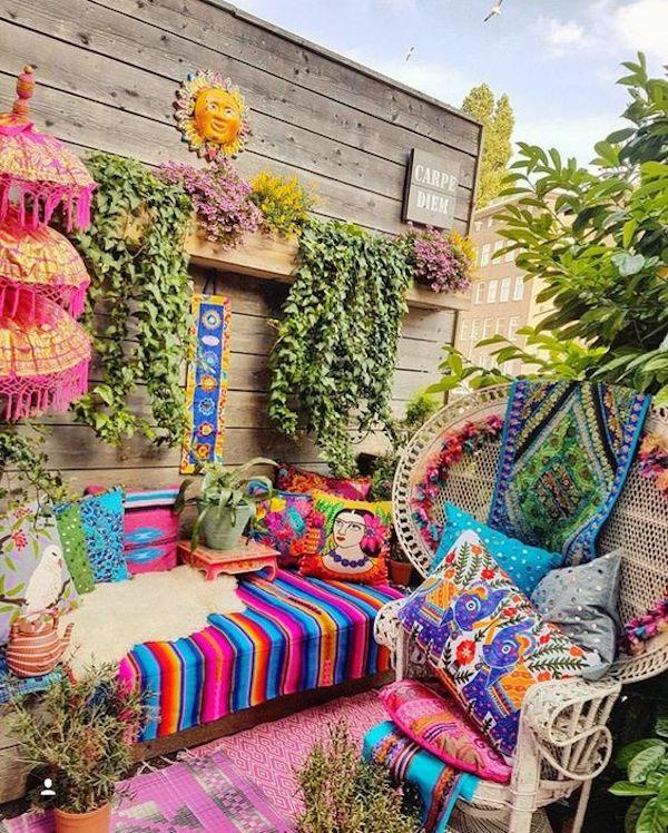 Down2Earth Interior Design - Amy's Own Home Sunroom Design Inspiration