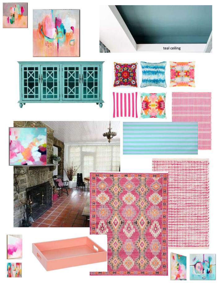 Moodboard for Sunroom interior Design #2