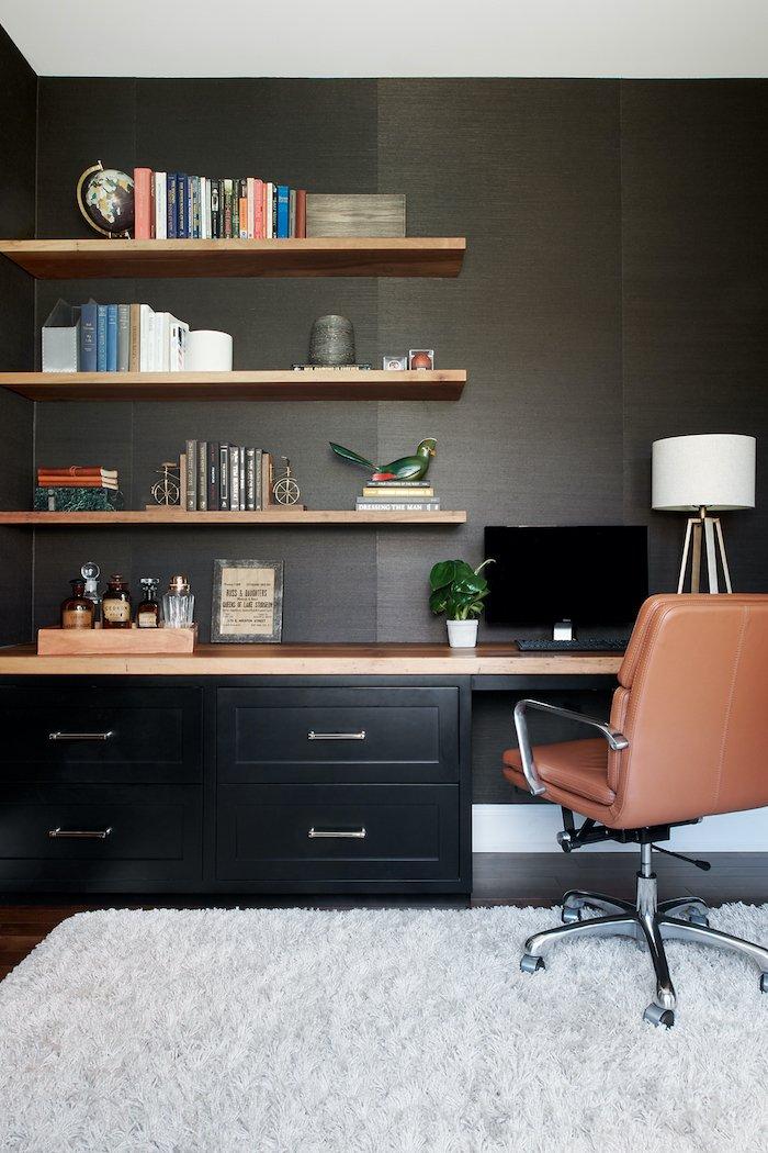 Inside the Hidden Home Office. Photo credit: Rebecca McAlpin