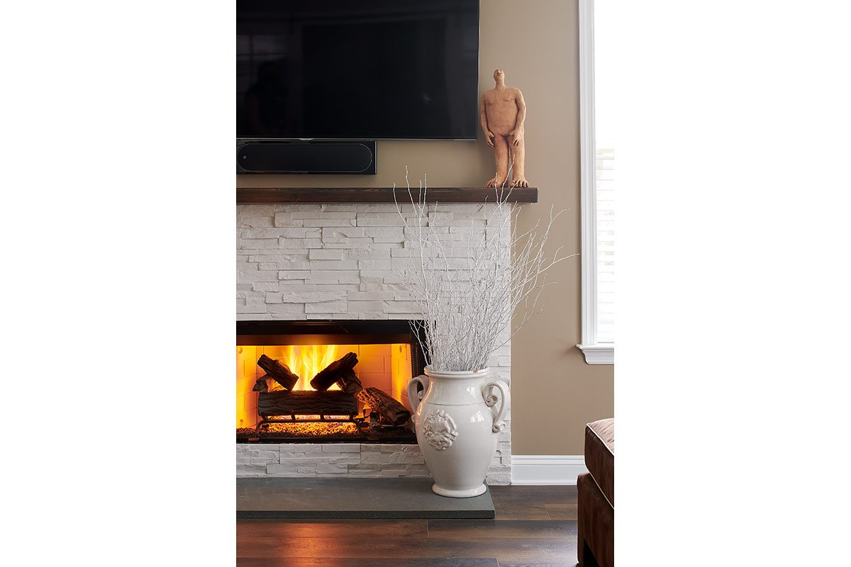 FIREPLACE | HARROGATE, AMBLER, PA